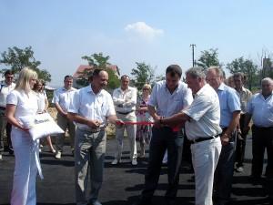 открытие КНС в микрорайоне Варваровка